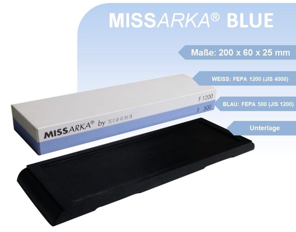 Feinschleifstein MissArka-Blue
